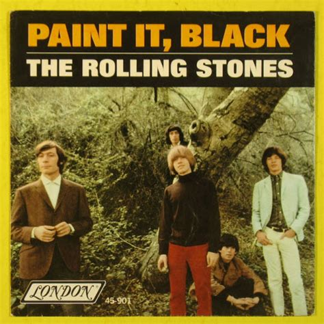 Today: The Rolling Stones released Paint It, Black in 1966